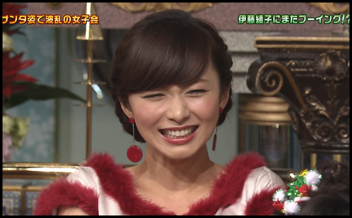 バラエティ番組に出演する伊藤綾子